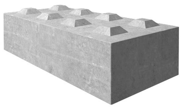Betongkloss størrelse 160-80-40